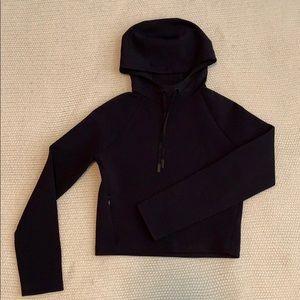 lululemon cropped workout hoodie